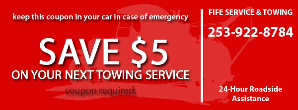 Fife Service & Towing Coupon