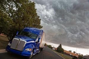 Semi-Truck Towing Tacoma
