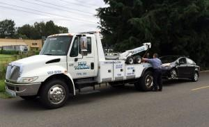 Towing Tacoma Washington