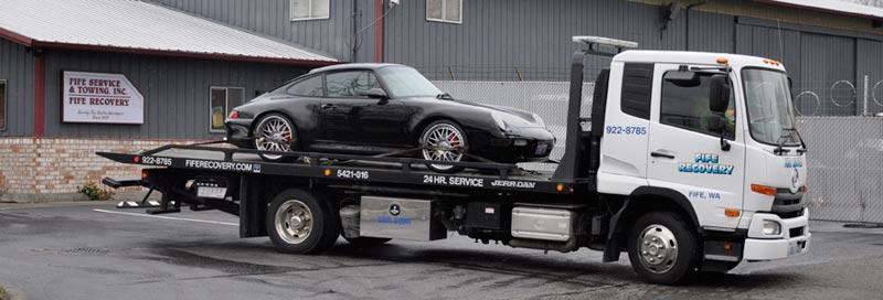 vehicle impound service Bonney Lake